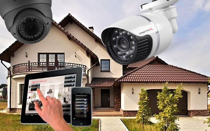 Организация видеонаблюдения на даче своими руками 88