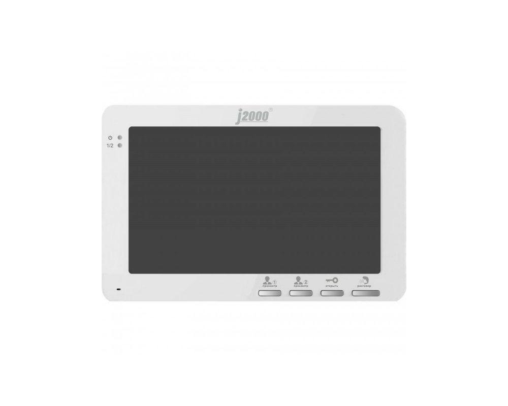 Видеодомофон J2000-DF-Кристина (белый)