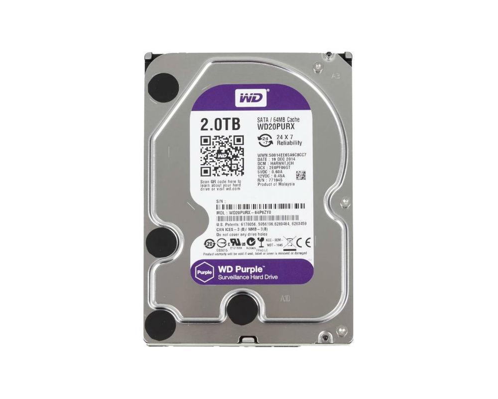 Жесткий диск Western Digital WD20PURX 2Tb