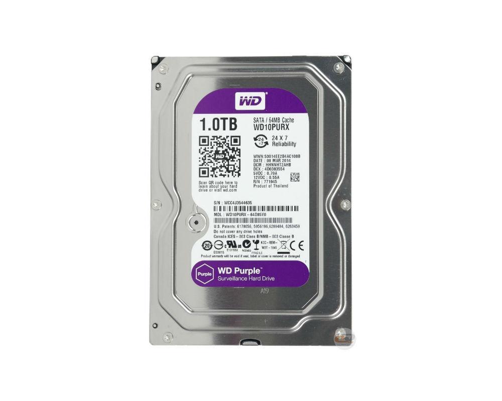 Жесткий диск Western Digital WD10PURX 1Tb